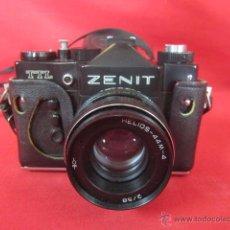 Cámara de fotos: CÁMARA DE FOTOS ZENIT MODELO TTL. EN SU FUNDA ORIGINAL. . Lote 49867031