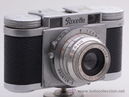 Cámara de fotos: Braun Paxette I - Foto 2 - 50231617