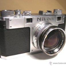 Cámara de fotos: NIKON S TELEMÉTRICA DE 1951. Lote 50949901