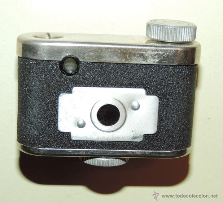 Cámara de fotos: CÁMARA DE FOTOS MINIATURA MARCA PETIE, PETI KAMERA, MADE IN GERMANY. PETIE 4 X 5 CMS. funcionando - Foto 7 - 51252201