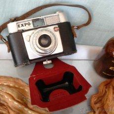 Cámara de fotos: VIEJA CÁMARA DE FOTOS. MARCA EXPO COLOR. CON SU ESTUCHE ORIGINAL. Lote 51405467