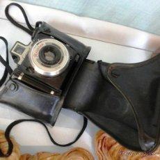 Cámara de fotos: VIEJA CÁMARA DE FOTOS. MARCA CORONET RAPIER. CON SU ESTUCHE ORIGINAL. Lote 51405511