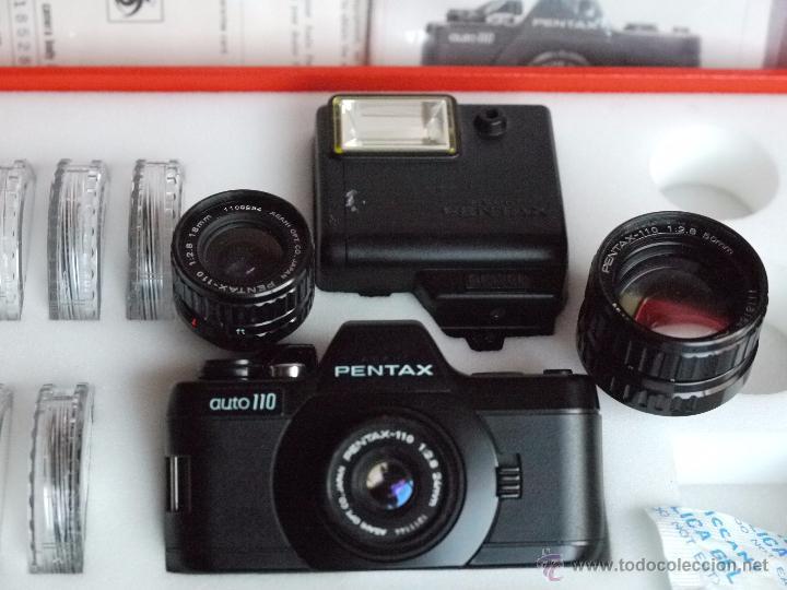 Cámara de fotos: Exquisito equipo de la reflex mas pequeña del Mundo.Pentax A 110. - Foto 3 - 51596943