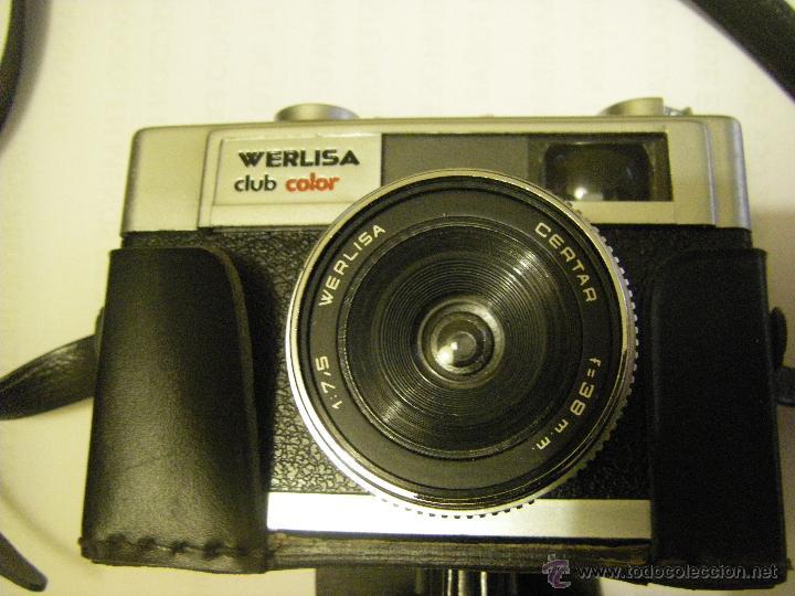 Cámara de fotos: Cámara Werlisa Club Color, Con Funda Original - Foto 4 - 51816018