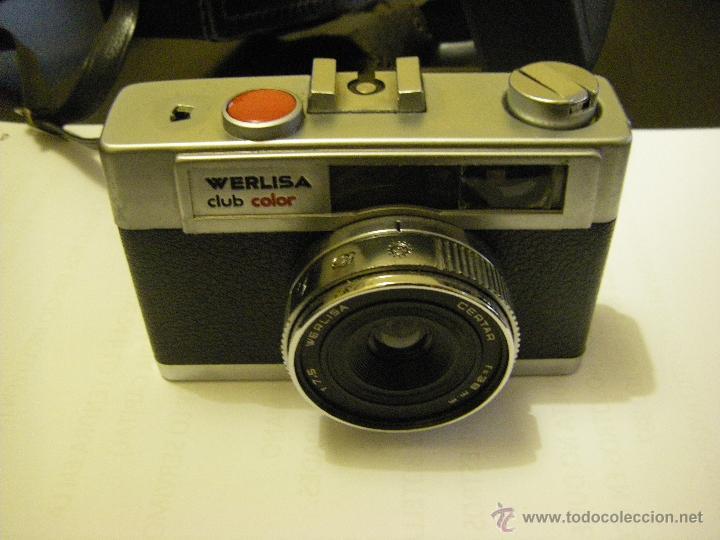 Cámara de fotos: Cámara Werlisa Club Color, Con Funda Original - Foto 5 - 51816018