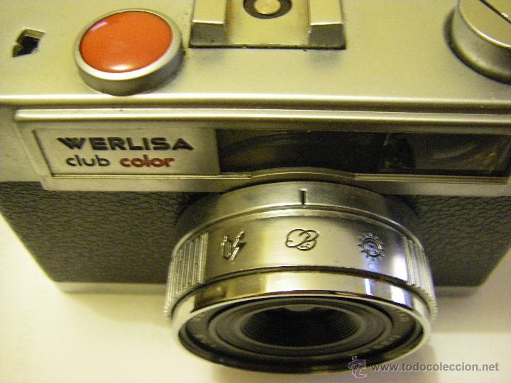 Cámara de fotos: Cámara Werlisa Club Color, Con Funda Original - Foto 7 - 51816018