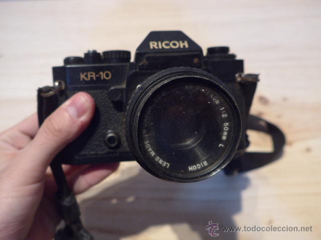 Cámara de fotos: Antigua camara fotografica Ricoh K R-10 - Foto 3 - 52391161