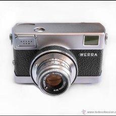 Cámara de fotos: CARL ZEISS WERRA 2. ELEGANTE CÁMARA ALEMANA DE 1961. MUY BUEN ESTADO. Lote 52973727
