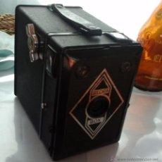 Cámara de fotos: CÁMARA FOTOGRÁFICA ANTIGUA. CAJA BOX BILORA AÑOS 50. ALEMANA:. Lote 54354484