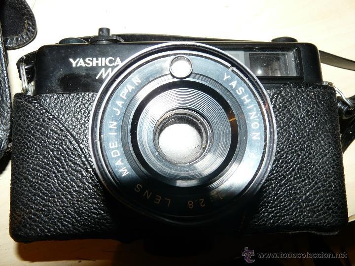 Cámara de fotos: CAMARA YASHICA MG-1 AÑO 1.975 FUNDA ORIGINAL OBJETIVO YASHINION 45 MM 1:2.8 - Foto 2 - 54436653
