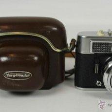 Cámara de fotos: CAMARA FOTOGRAFICA VOIGYLANDER MODELO VITO CLR. CON FUNDA DE CUERO. 1960.. Lote 49974768