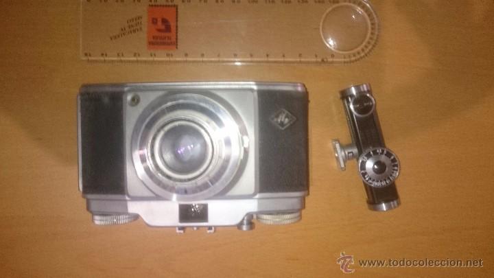 Cámara de fotos: CAMARA DE FOTOS AGFA SILETTE CON SU FUNDA Y DISPARADOR - Foto 5 - 55052664