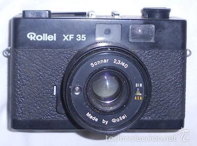 CÁMARA DE FOTOS ROLLEI XF 35 (Cámaras Fotográficas - Clásicas (no réflex))