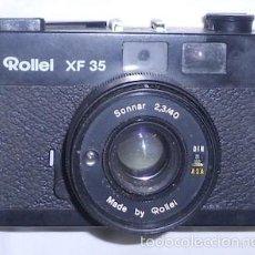 Cámara de fotos: CÁMARA DE FOTOS ROLLEI XF 35. Lote 55140178