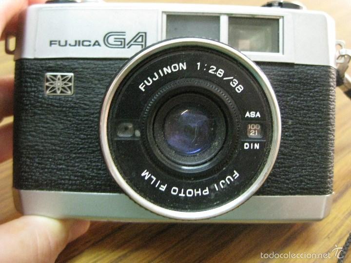 CAMARA FUJICA GA CON FUNDA (Cámaras Fotográficas - Clásicas (no réflex))