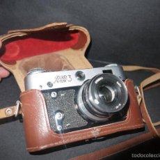 Cámara de fotos: CAMARA SOVIETICA FED 3.. Lote 56555019