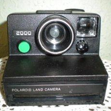 Cámara de fotos: POLAROID LAND 2000 ANTIGUA CÁMARA DE FOTOS. Lote 57022010