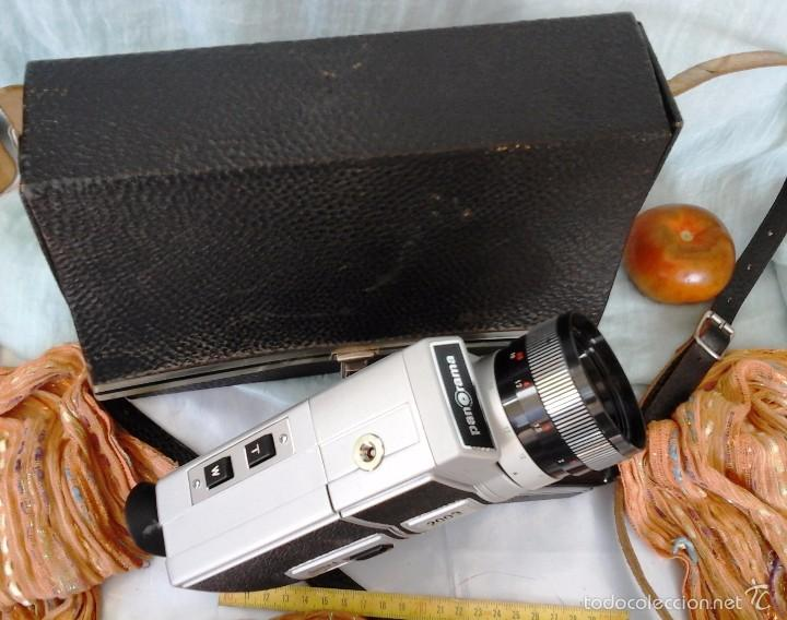 Cámara de fotos: VIEJA CÁMARA DE VÍDEO MARCA PANORAMA. EN SU MALETÍN ORIGINAL. SUPER-8: - Foto 4 - 57084758