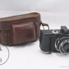 Cámara de fotos: ANTIGUA CÁMARA FOTOGRÁFICA - FOWELL CINEFILM - AÑOS 40-50 - FOTOS - MEDIDAS 15 X 7 X 9 CM. Lote 57226324