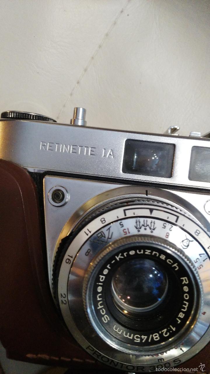 Cámara de fotos: CÁMARA DE FOTOS KODAK, RETINETTE IA - Foto 4 - 57368951