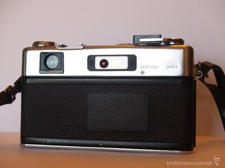 Cámara de fotos: YASHICA ELECTRO 35 / FUNCIONANDO Y EN EXCELENTE ESTADO / FUNDA ORIGINAL - Foto 3 - 146595376