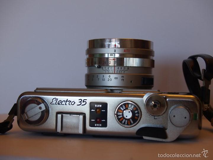 Cámara de fotos: YASHICA ELECTRO 35 / FUNCIONANDO Y EN EXCELENTE ESTADO / FUNDA ORIGINAL - Foto 4 - 146595376
