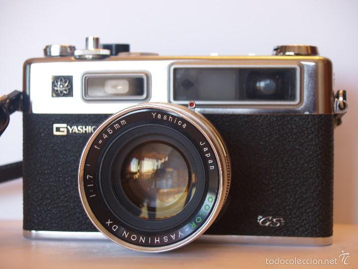 Cámara de fotos: YASHICA ELECTRO 35 / FUNCIONANDO Y EN EXCELENTE ESTADO / FUNDA ORIGINAL - Foto 8 - 146595376