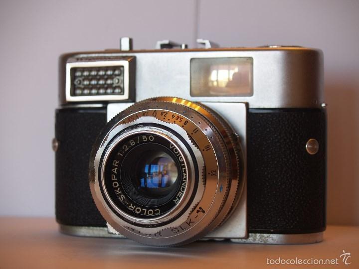Cámara de fotos: VOIGTLANDER VITOMATIC I / EXCELENTE ESTADO Y FUNCIONANDO / FUNDA ORIGINAL - Foto 2 - 57610759