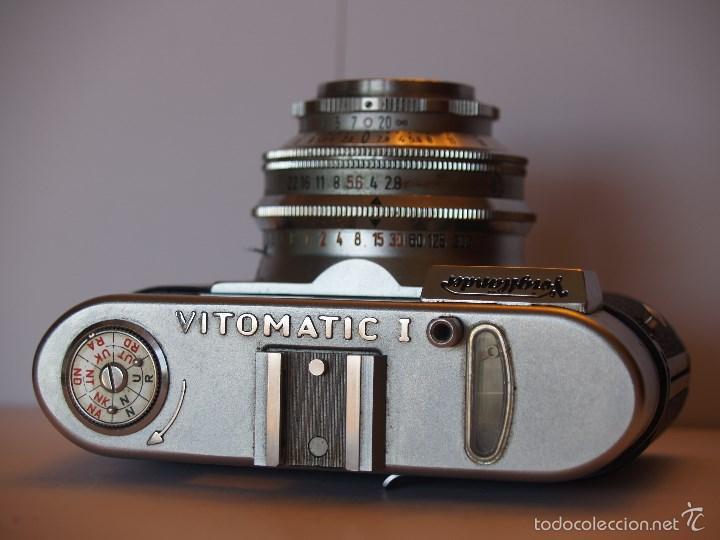 Cámara de fotos: VOIGTLANDER VITOMATIC I / EXCELENTE ESTADO Y FUNCIONANDO / FUNDA ORIGINAL - Foto 6 - 57610759