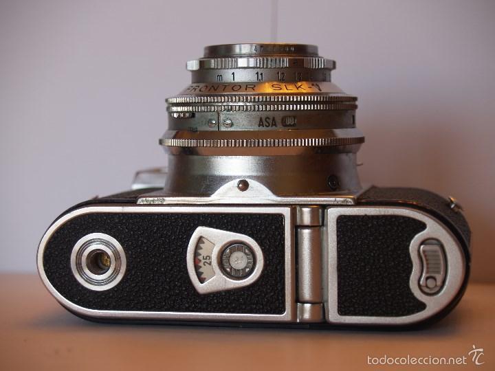 Cámara de fotos: VOIGTLANDER VITOMATIC I / EXCELENTE ESTADO Y FUNCIONANDO / FUNDA ORIGINAL - Foto 7 - 57610759