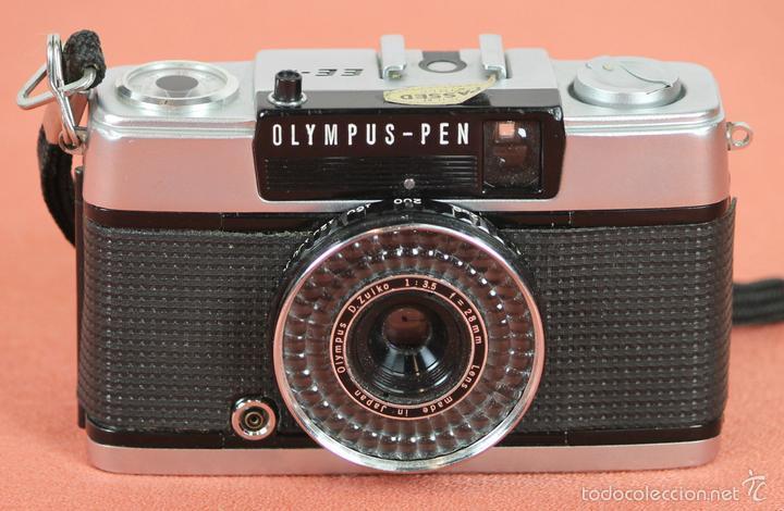 CAMARA FOTOGRAFICA. OLYMPUS-PEN. MODELO EE-3. MADE IN JAPAN. 1973-1983. (Cámaras Fotográficas - Clásicas (no réflex))