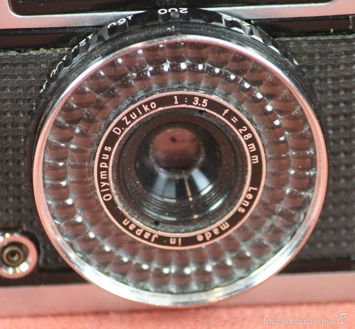 Cámara de fotos: CAMARA FOTOGRAFICA. OLYMPUS-PEN. MODELO EE-3. MADE IN JAPAN. 1973-1983. - Foto 3 - 57863985