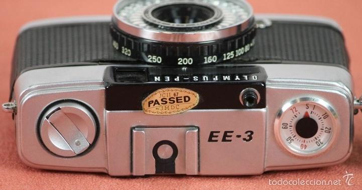 Cámara de fotos: CAMARA FOTOGRAFICA. OLYMPUS-PEN. MODELO EE-3. MADE IN JAPAN. 1973-1983. - Foto 4 - 57863985