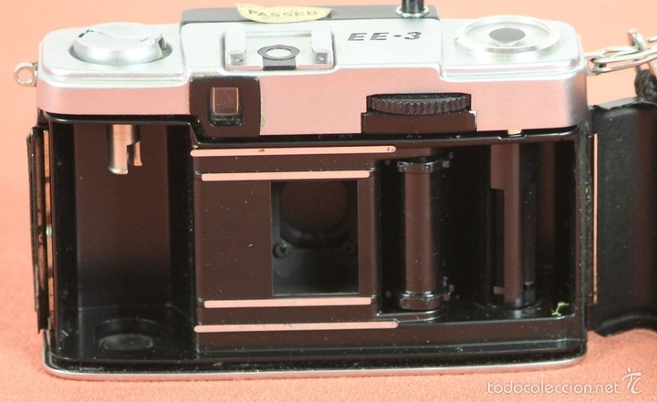 Cámara de fotos: CAMARA FOTOGRAFICA. OLYMPUS-PEN. MODELO EE-3. MADE IN JAPAN. 1973-1983. - Foto 6 - 57863985