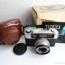 Cámara de fotos: ANTIGUA CAMARA FOTOGRAFICA YASHICA EE 35EE 28 F 1962 - 2.8 - FUNDA - INSTRUCCIONES - CAJA. Lote 57921085