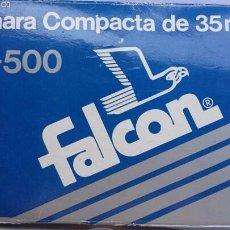 Cámara de fotos: CAMARA FALCON GT 500 COMPLETA FUNDA PARASOL. Lote 58433992