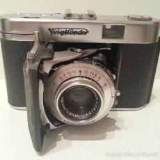 Cámara de fotos: RARA: LA ÚLTIMA CÁMARA DE FUELLE DE 35MM: VOIGTLÄNDER VITO II A COLOR-SKOPAR 1:3.5/50 DE 1955. Lote 58443532
