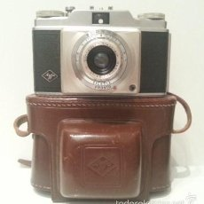 Cámara de fotos: LA PRIMERA AGFA SILETTE. 1953. LLEVA LA RARA VARIANTE SCHNEIDER-KREUZNACH RADIONAR 1:3,5/45.. Lote 58443900