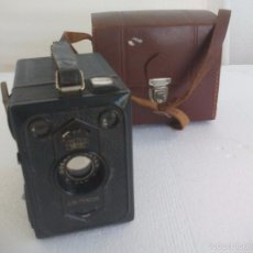 Cámara de fotos: ANTIGUA BOX TENGOR. ZEISS IKON. GOERZ FRONTAR. CAMÁRA DE CAJÓN.. Lote 152022492