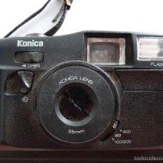 Cámara de fotos: CAMARA DE FOTOS COMPACTA KONICA 35MM. Lote 60136027