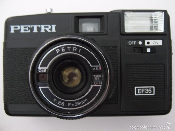 Cámara de fotos: CAMARA DE FOTOS VINTAGE PETRI SIN ESTRENAR - Foto 3 - 60775091