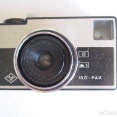 Cámara de fotos: CAMARA AGFA ISO-PAK. Lote 61674484