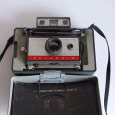 Cámara de fotos: CAMARA INSTANTANEA - POLAROID 220 AUTOMATIC + MANUAL - LAND CAMERA 1968. Lote 61820860