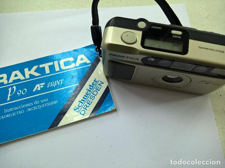 Camara de fotos praktica p90 af super con instr comprar cámaras