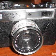 Cámara de fotos: CÁMARA YASHICA MG-1 - OBJETIVO YASHINON 45 MM; 1 : 2.8 . Lote 68644725
