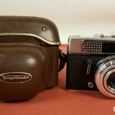 Cámara de fotos: CAMARA FOTOGRAFICA VOIGTLANDER VITORET LR. FUNDA ORIGINAL. ALEMANIA. 1961/1971. . Lote 69253093