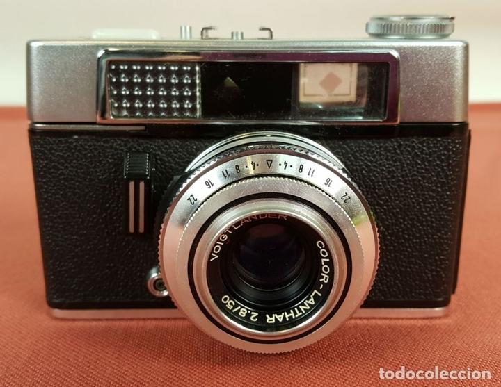 Cámara de fotos: CAMARA FOTOGRAFICA VOIGTLANDER VITORET LR. FUNDA ORIGINAL. ALEMANIA. 1961/1971. - Foto 2 - 69253093