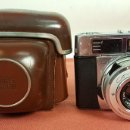 Cámara de fotos: CAMARA ZEISS IKON CANTESSAMATIC SLK. FUNDA DE CUERO ORIGINAL. ALEMANIA 1961. . Lote 69257809