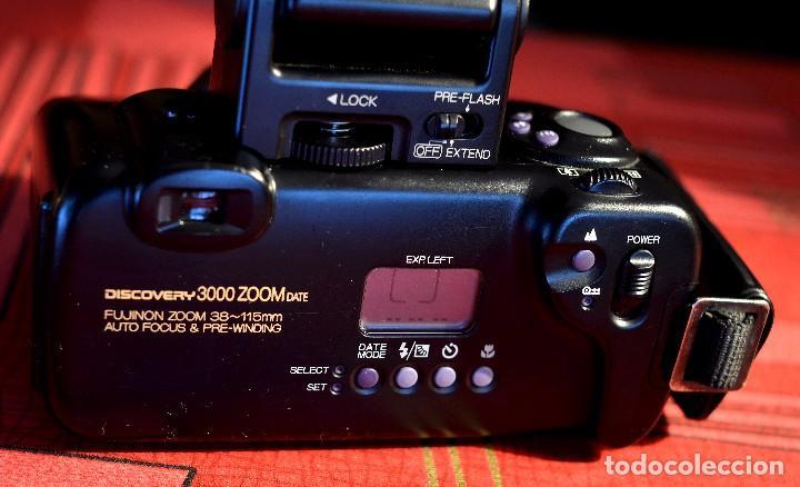 Cámara de fotos: FUJI DISCOVERY 3000 ZOOM DATE CON FLASH (LEER DESCRIPCIÓN) - Foto 2 - 70274697