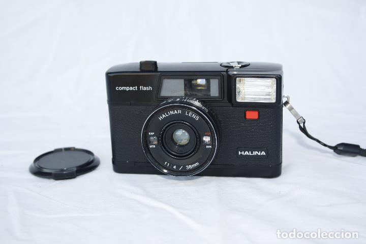 Cámara de fotos: Muy curiosa cámara de colección - HALINA compact flash - Foto 2 - 74676345